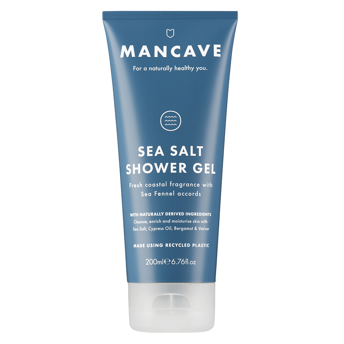 ManCave Sea Salt Shower Gel