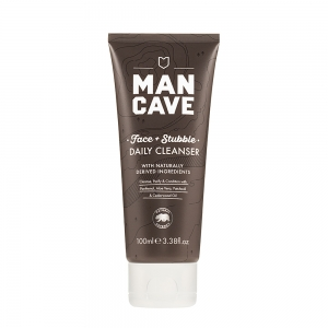 ManCave Face + Stubble daily cleanser