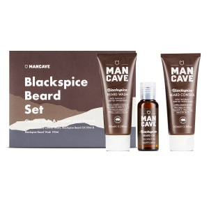 ManCave Blackspice Beard Set
